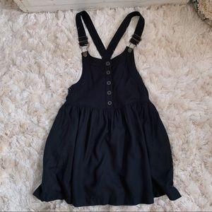 UO Kimchi Blue Black Overall Dress